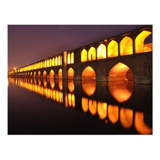 Carte Postale Postcard Siosepol (Bridge of 33 Arch) Isfahan Iran