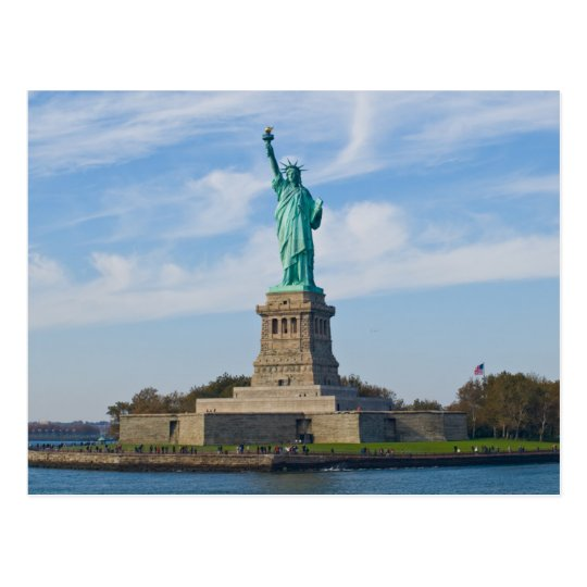 Carte Postale Postcard Statue of Liberty, New York USA