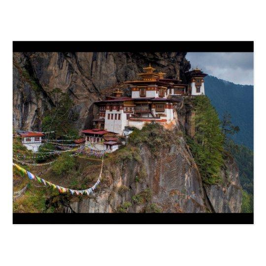 Carte Postale Postcard Taktsang Monastery Tiger´s nest in Bhutan