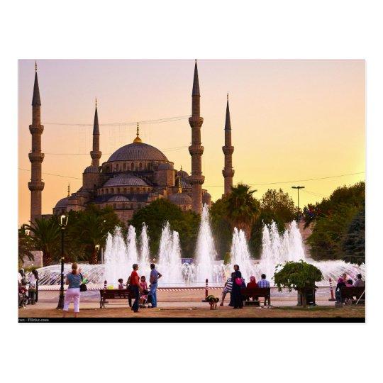 Carte Postale Postcard The Blue mosque, Turkey, Istanbul