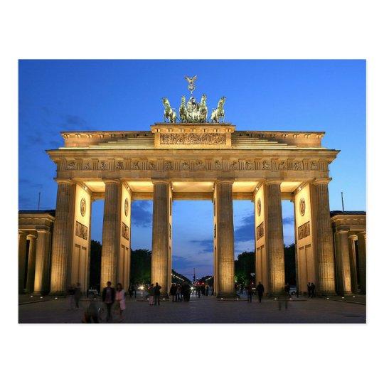 Carte Postale Postcard The Brandenburg Gate in Berlin, Germany