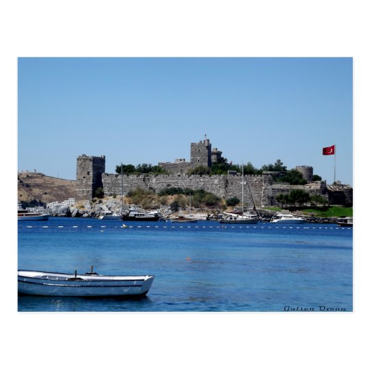 Carte Postale Postcard The Castle Of Bodrum - Turkey