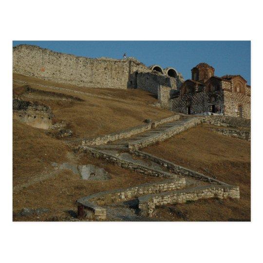 Carte Postale Postcard The Citadel Of Berat (entrance), Albania