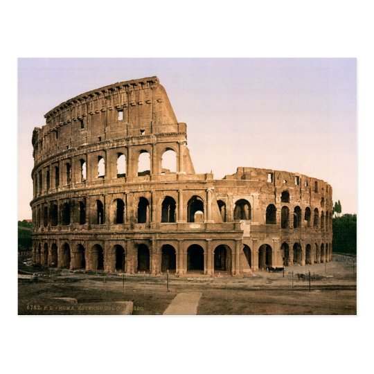Carte Postale Postcard The Colosseum Of Rome, Italy