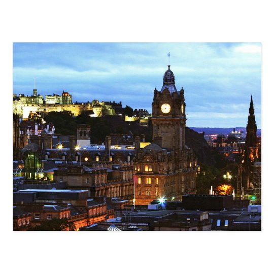 Carte Postale Postcard The Edinburgh Castle in Glasgow