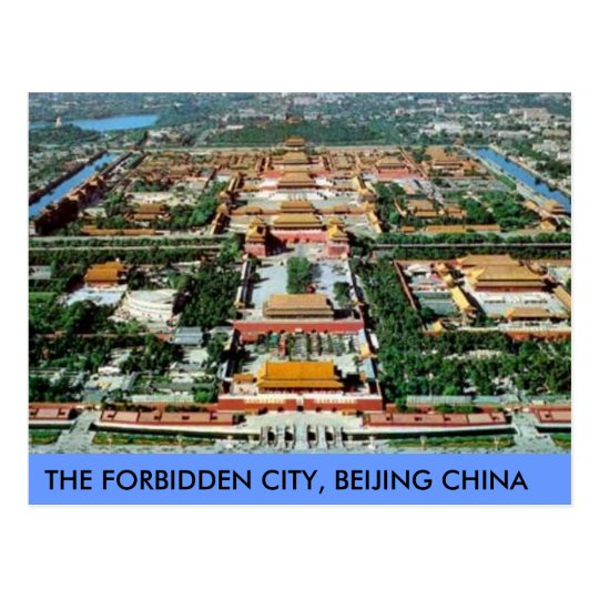 Carte Postale Postcard The Forbidden City Beijing China