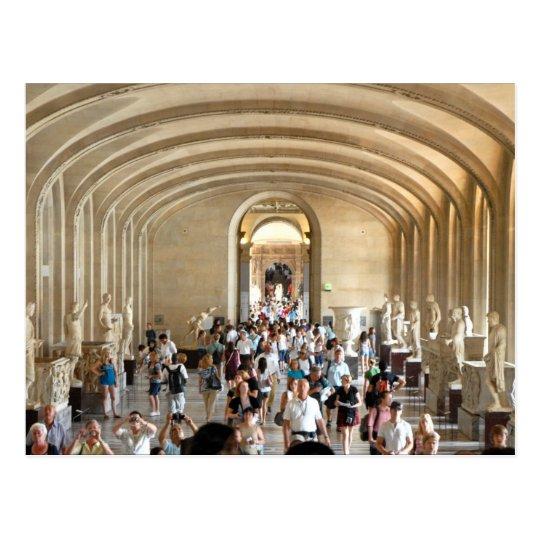 Carte Postale Postcard The Louvre Museum in Summer, Paris France