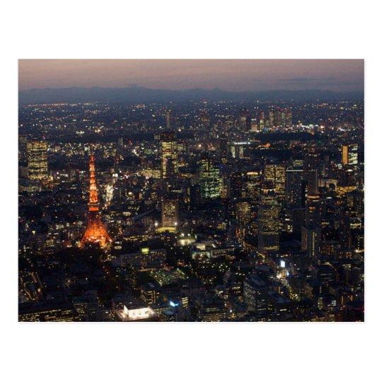 Carte Postale Postcard Tokyo Tower in Tokyo, Japan