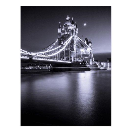 Carte Postale Postcard Tower Bridge at night, London, U.K.
