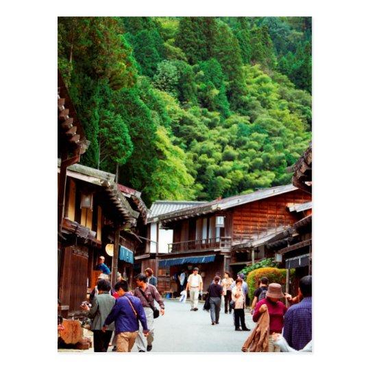 Carte Postale Postcard Tsumago, Nagano, Japan