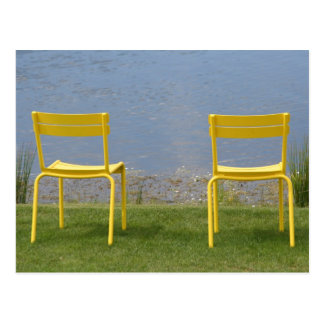 Carte Postale Postcard : Two Chairs