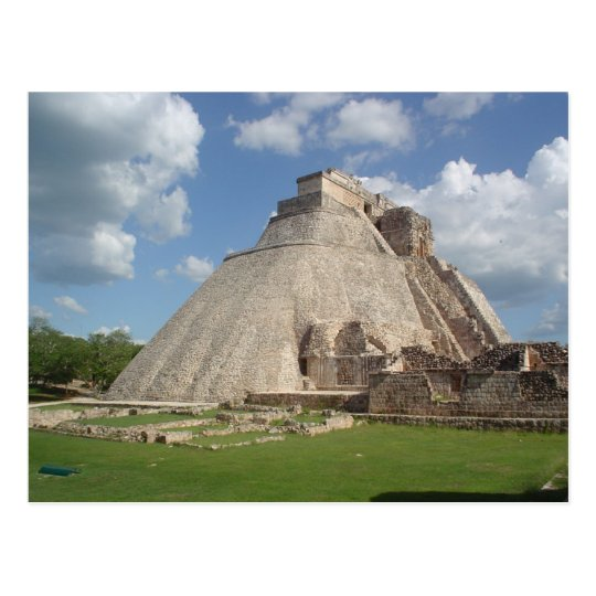 Carte Postale Postcard Uxmal In Yucatan, Mexico