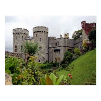 Carte Postale Postcard Windsor Castle on the Thames River