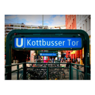 Carte Postale Postcards from Berlin : Kottbusser barrière
