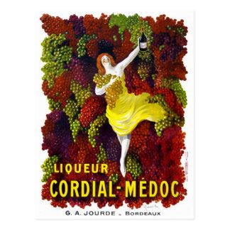 Carte Postale Poster vintage Cordial-Medoc de Liquer reconstitué