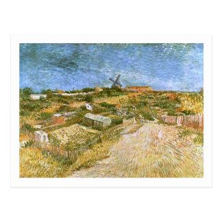Carte Postale Potagers en beaux-arts de Montmartre Van Gogh