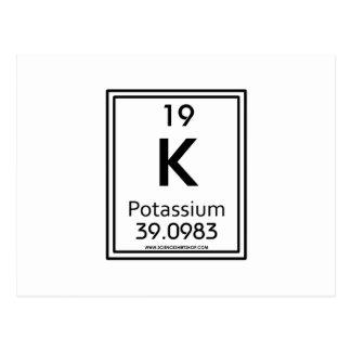 Carte Postale Potassium 19