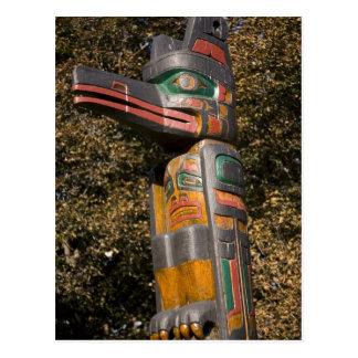 Carte Postale Poteau de totem en parc à Ottawa, Ontario, Canada