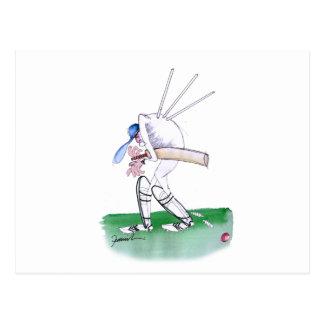 Carte Postale pour le rien - cricket, fernandes élégants