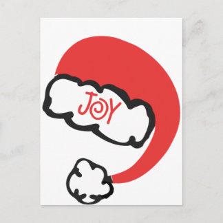 Carte Postale Pour Les Fêtes Joie de Père Noël