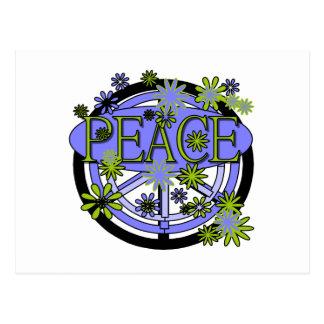 Carte Postale Pourpre et paix de chaux