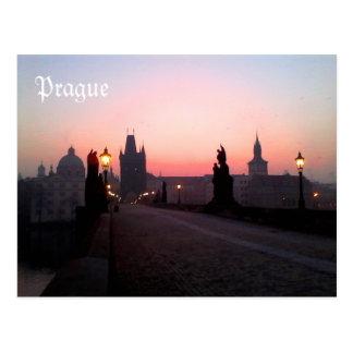 Carte Postale Prague Charles Bridge