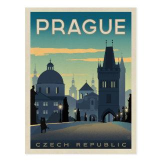 Carte Postale Prague, République Tchèque