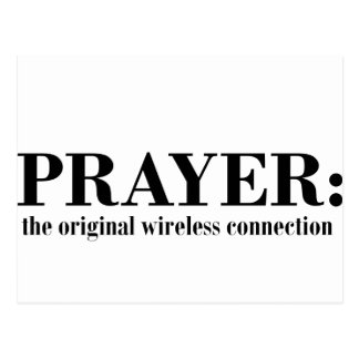 Carte Postale prayer_wireless_blk