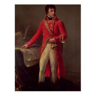 Carte Postale Premier consul de Napoleon Bonaparte, 1802