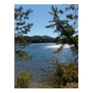 Carte Postale Premier jour de l'automne 2007 dans l'Adirondacks