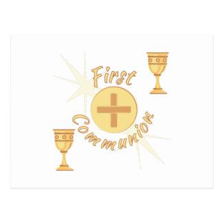 Carte Postale Première communion