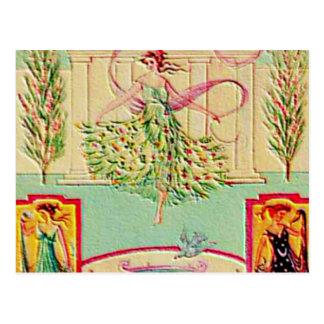 Carte Postale Première déesse Athéna