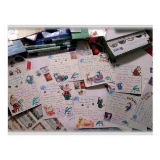 Carte Postale Préparez pour Noël !