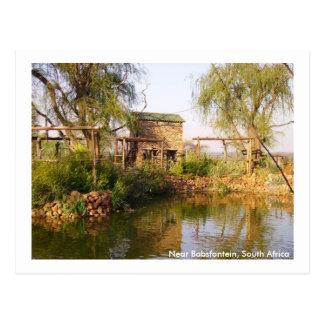 Carte Postale Près de Babsfontein, l'Afrique du Sud