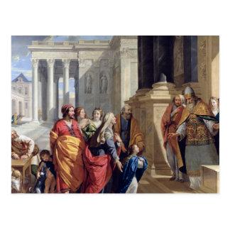 Carte Postale Présentation de la Vierge dans le temple