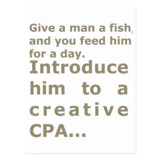 Carte Postale Présentez-le à CPA créatif