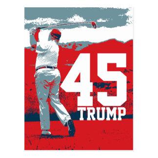 Carte Postale Président de Donald Trump quarante-cinquième