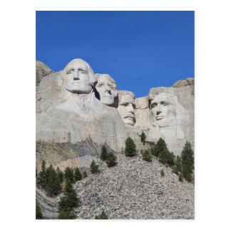 Carte Postale Présidents Etats-Unis Amérique du mont Rushmore le
