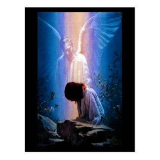 Carte Postale Prière d'ange