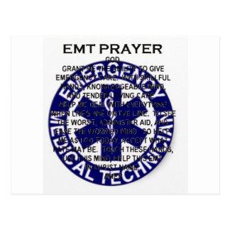 Carte Postale Prière d'EMT