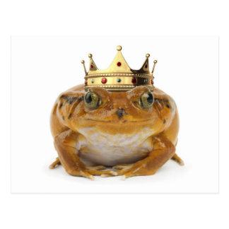 Carte Postale Prince de grenouille - avant
