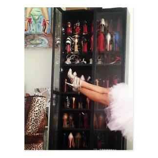 Carte Postale Princesse de chaussure