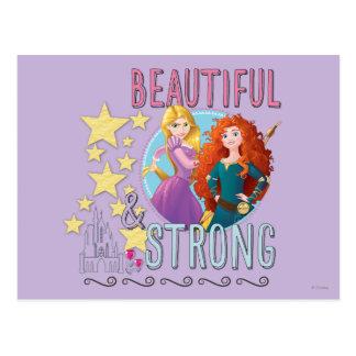 Carte Postale Princesse de Disney   Rapunzel et Mérida