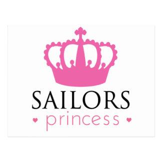 Carte Postale Princesse de marins