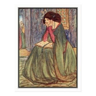 Carte Postale Princesse pleurante par Florence Harrison