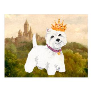 Carte Postale Princesse/prince des montagnes occidentaux de