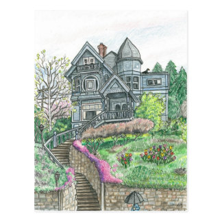 Carte Postale Printemps en Bellingham, Washington