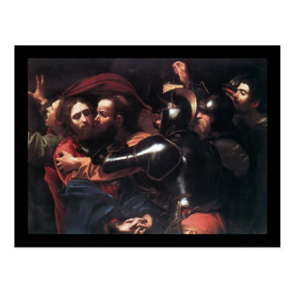 Carte Postale Prise de Caravaggio du Christ