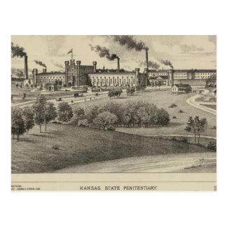 Carte Postale Prison d'état du Kansas