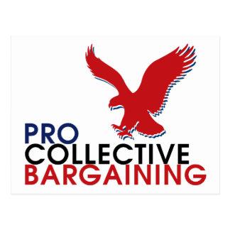 Carte Postale Pro collection des syndicats